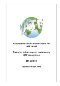 IATF16949 Rules publication
