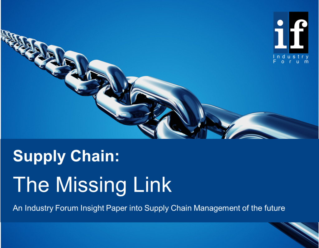 Supply Chain Insight Paper cover